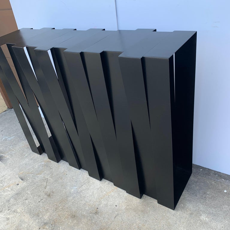 Contemporary Modern 'Structure 12' Console by Stephane Ducatteau, France, 2008 For Sale