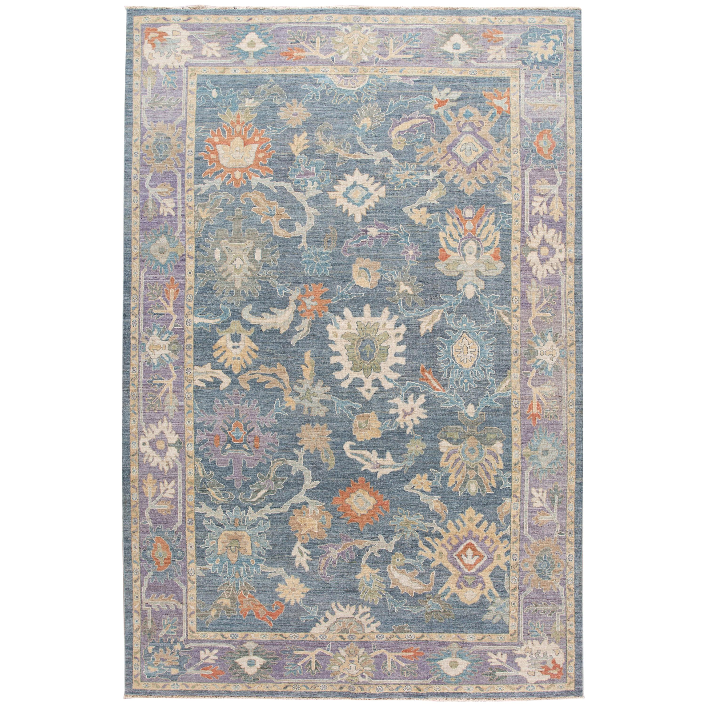 Modern Sultanabad Wool Rug