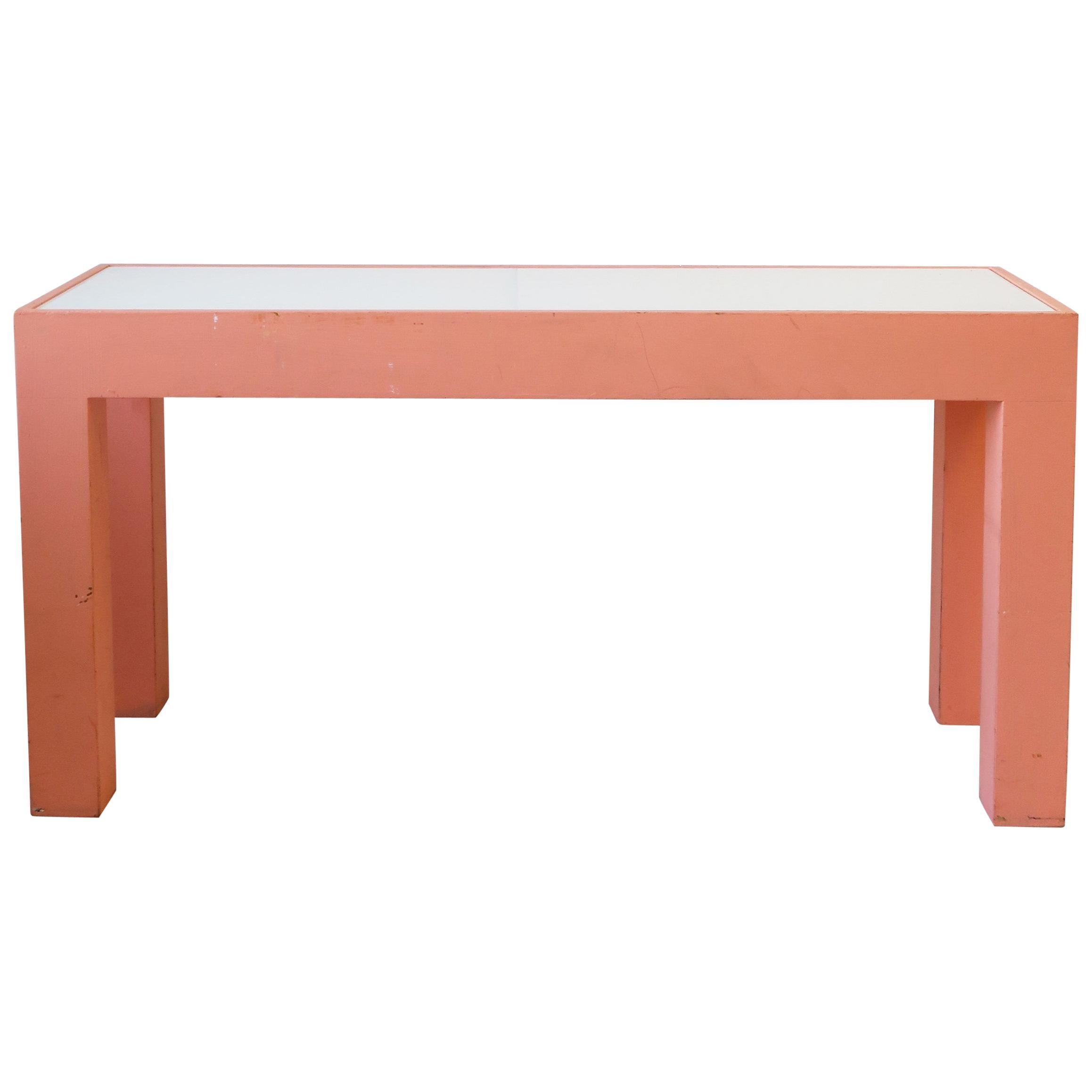 Modern Table or Bench-Shelf, circa 1980s