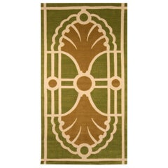 Modern TC1 Rug by Timothy Corrigan in Brown and Green