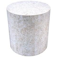 Modern Tessellated Stone Pedestal by Maitland-Smith