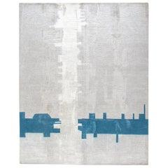 Modern Tibetan Bamboo Silk Rug
