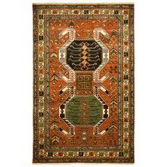 Modern Tribal Persian Caucasian Carpet