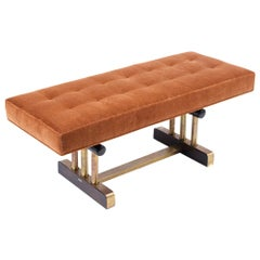 Modern Tufted Bench