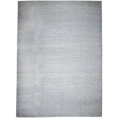 Modern Turkish Flat-Weave Hemp Rug