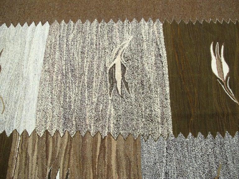 Modern Turkish Flat-Weave Rug For Sale 1