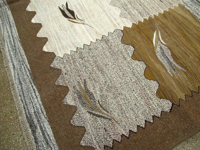 Modern Turkish Flat-Weave Rug For Sale 3