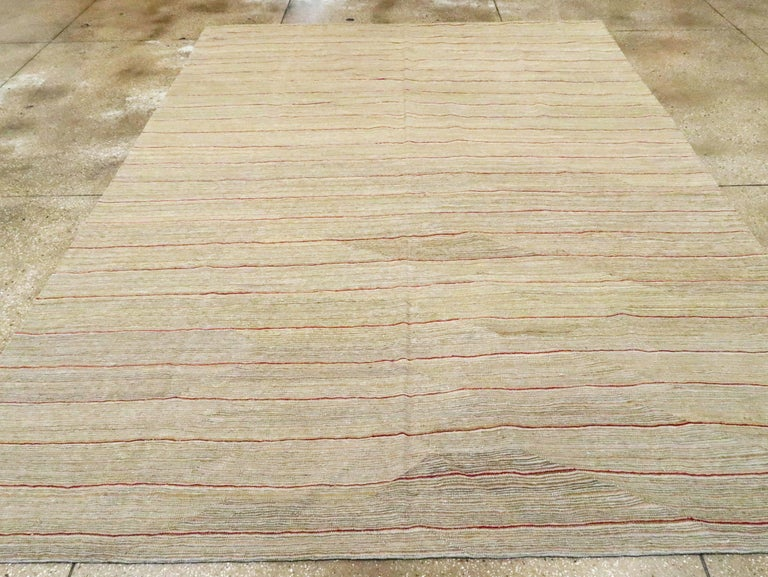 Contemporary Modern Turkish Flat-Weave Kilim For Sale