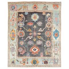 Modern Turkish Souf Oushak Carpet