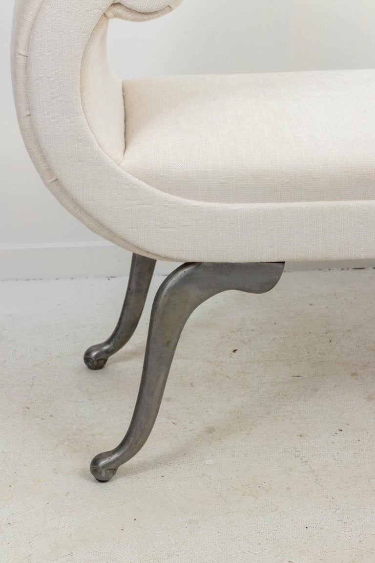 American Modern Upholstered Bench For Sale