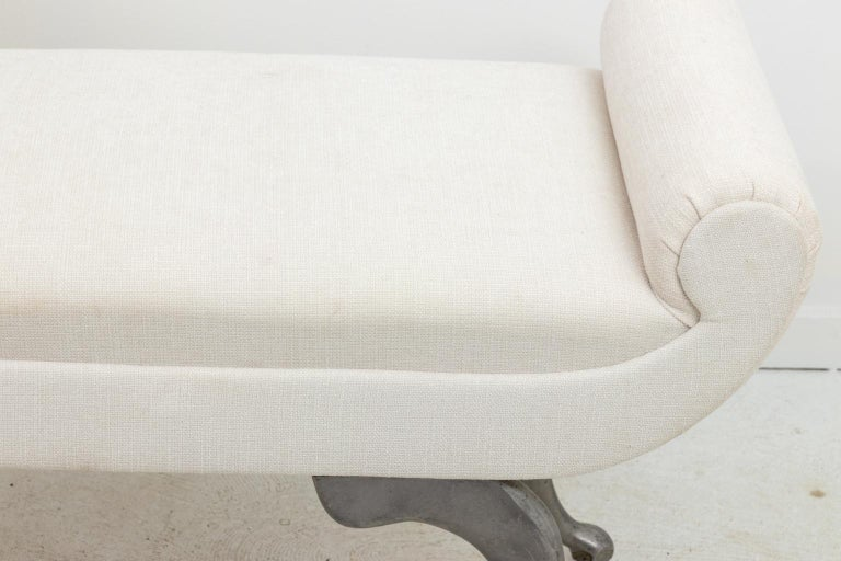 Mid-20th Century Modern Upholstered Bench For Sale