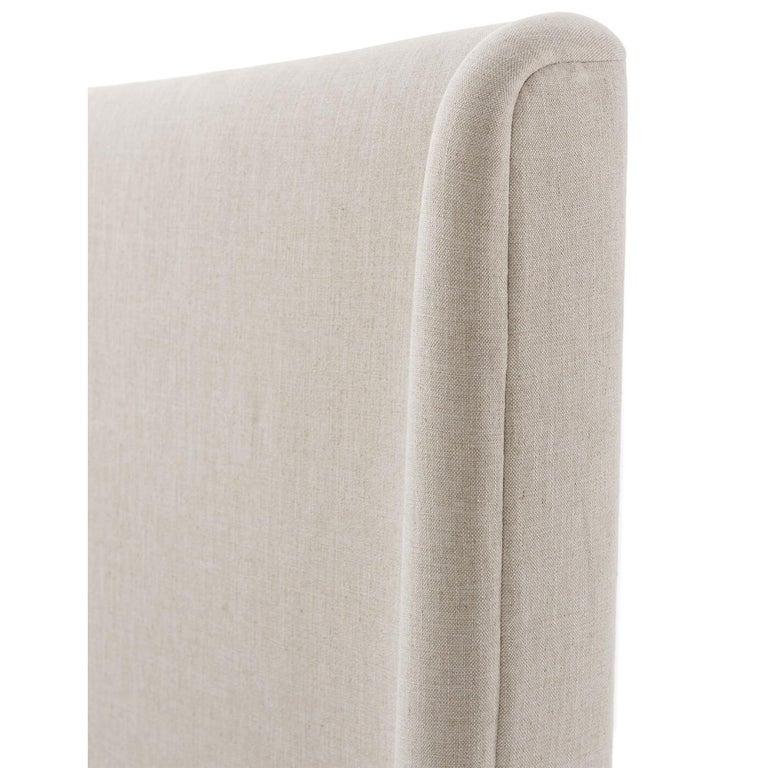 European Modern Upholstered King Size Bed For Sale