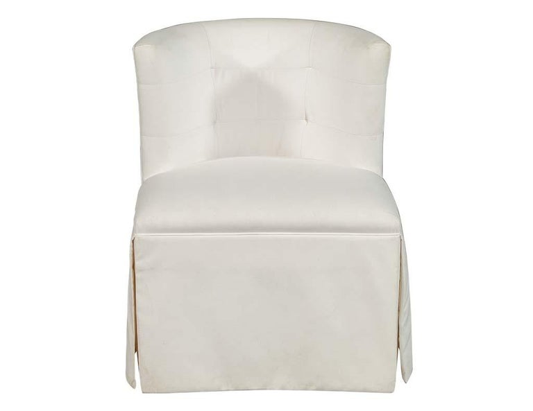 Modern sleek designed Parlor chair perfect for an accent in any room setting.