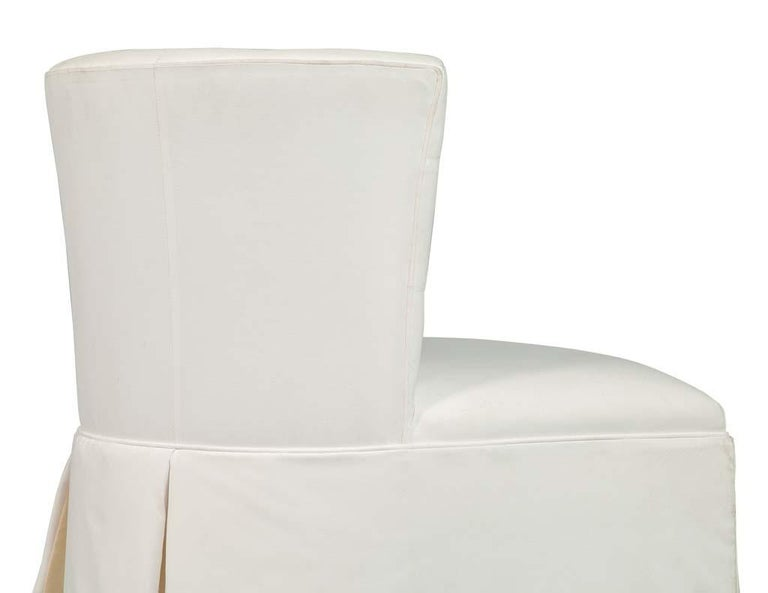 Modern Upholstered Side Accent Chair For Sale 1