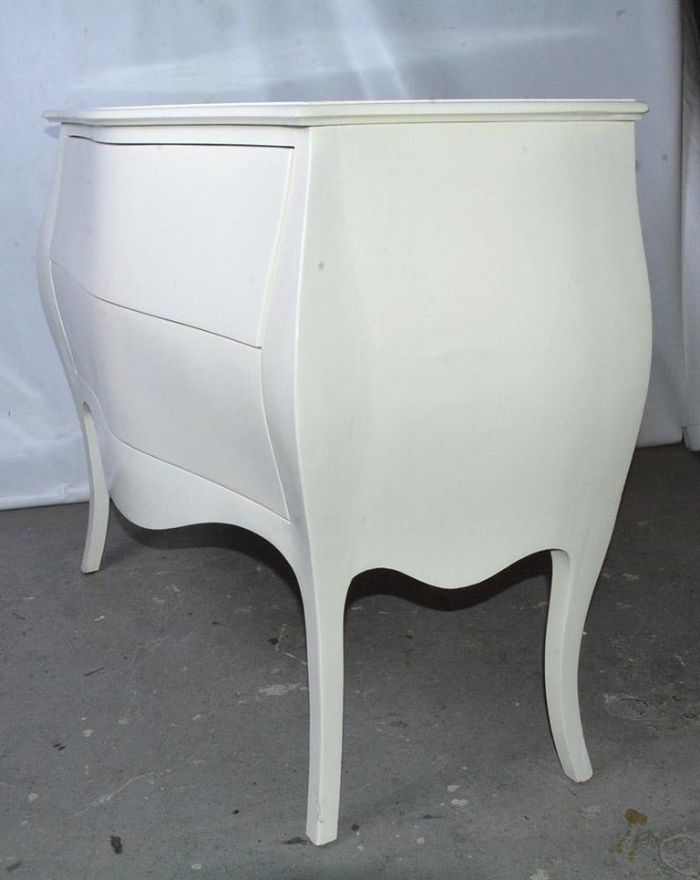 Hand-Crafted Modern Venetian-Style Hand-Painted Chest For Sale