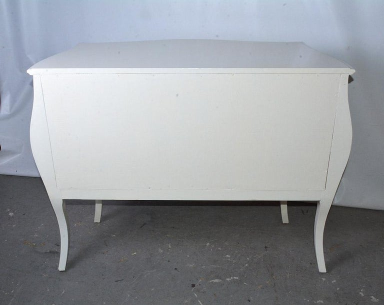 Modern Venetian-Style Hand-Painted Chest In Good Condition For Sale In Great Barrington, MA