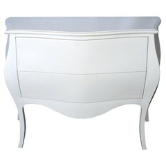 Modern Venetian-Style Hand-Painted Chest
