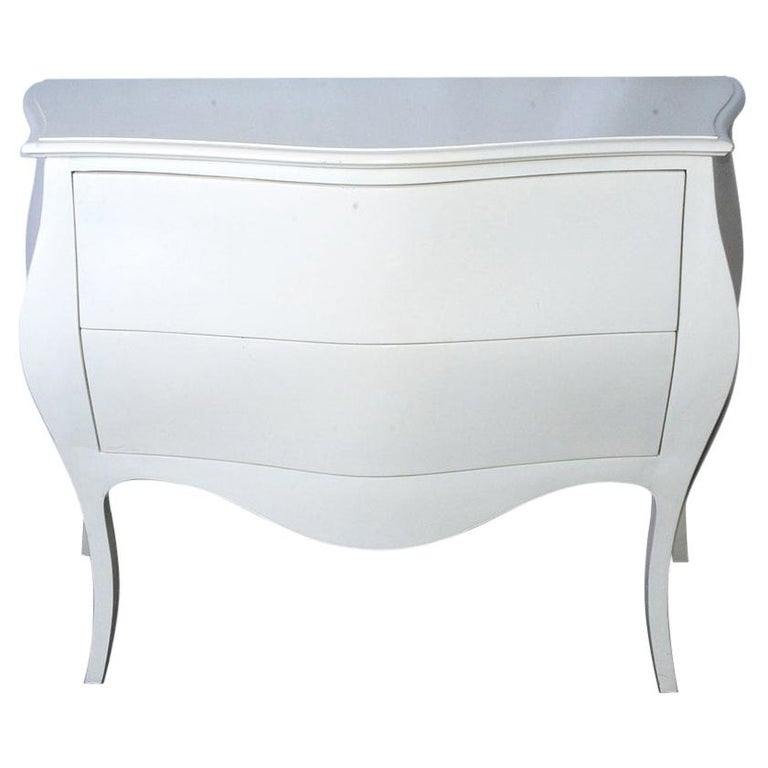 Modern Venetian-Style Hand-Painted Chest For Sale