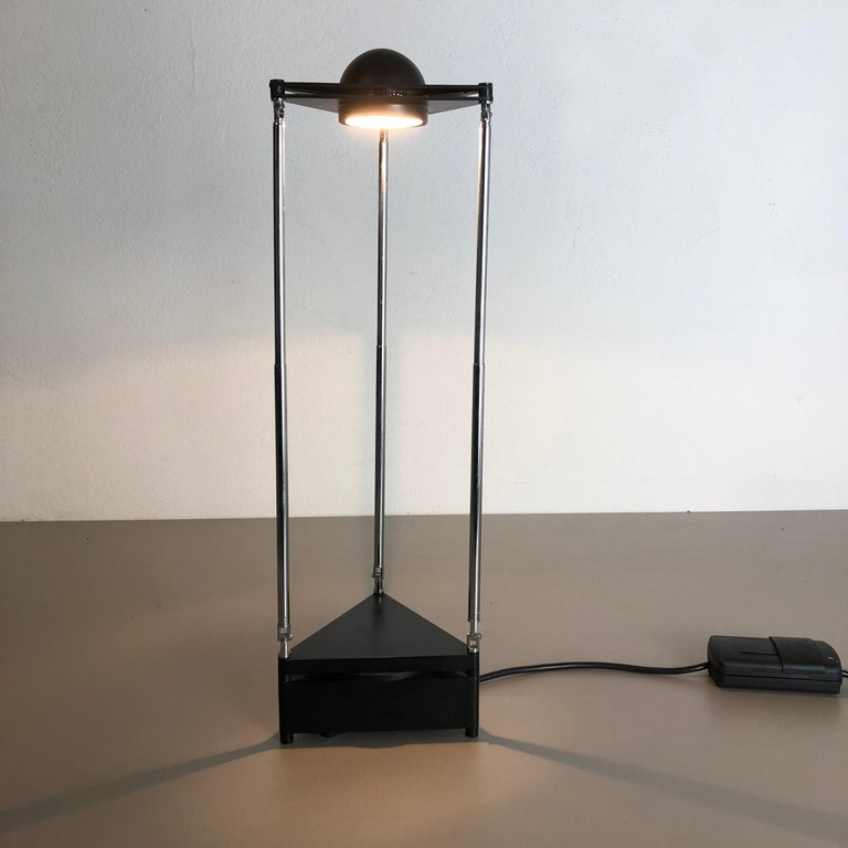 Modern Vintage Kandido Table Light by F. A. Porsche for Luci Lights Italy, 1980s For Sale 1