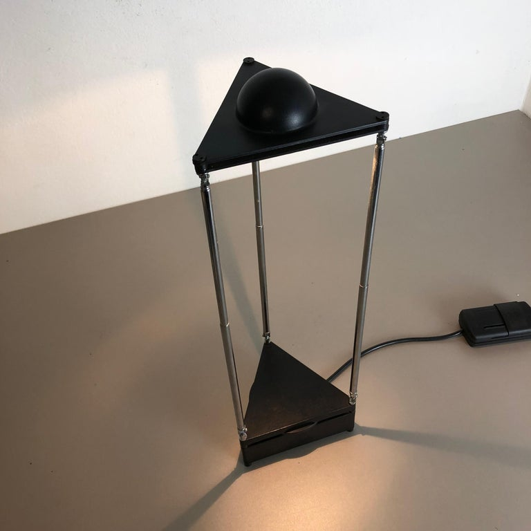 Modern Vintage Kandido Table Light by F. A. Porsche for Luci Lights Italy, 1980s For Sale 2