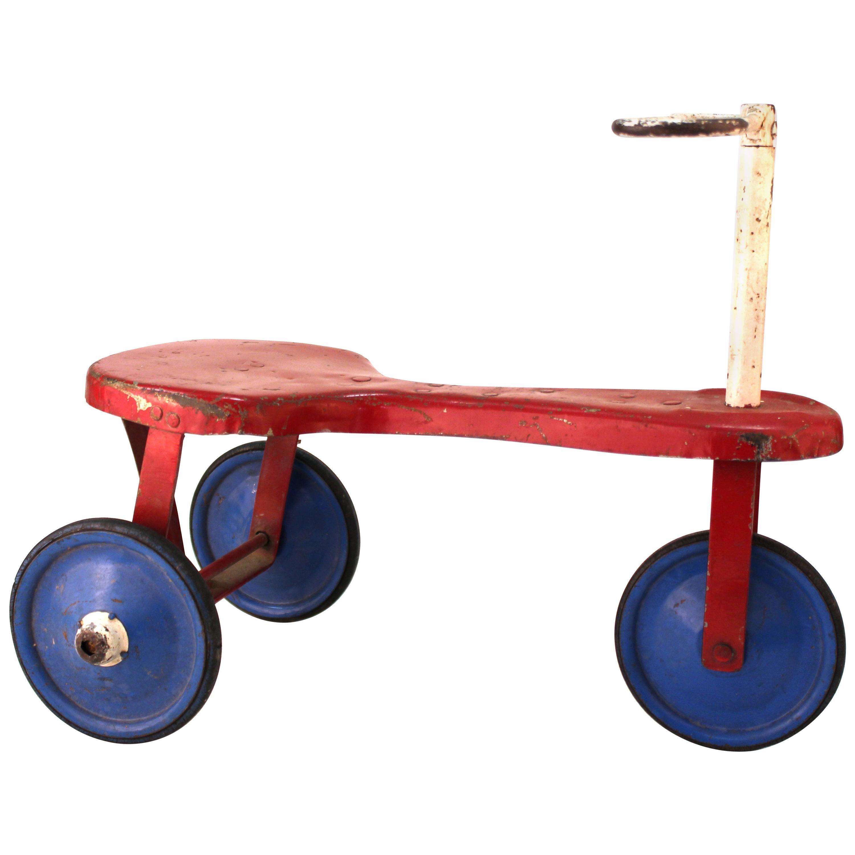 Modern Vintage Toy Tricycle