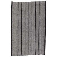 Modern Vintage Turkish Kilim Rug 'Flat-Weave'