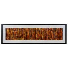 """Modern Wall Art Title """"Prairie Grass"""" Signed Cheryl & Steven Ward"""