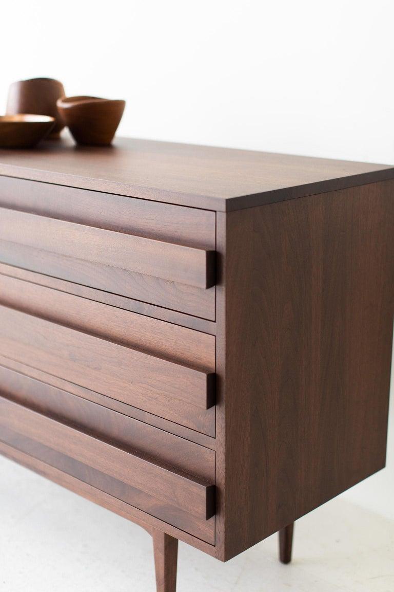 Modern Walnut Dresser For Sale 5