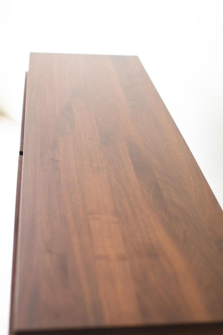 Modern Walnut Dresser For Sale 6