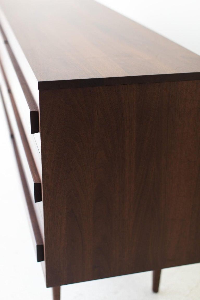 Modern Walnut Dresser For Sale 3