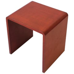 '70s Modern Waterfall Side or End Table