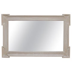 White Oak 'Piazza' Mirror by Scott James Furniture