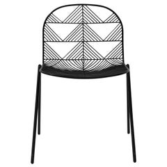 "Modern Wire ""Betty"" Chair in Black by Bend Goods"