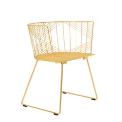 "Modern Wire ""Captain"" Chair by Bend Goods"
