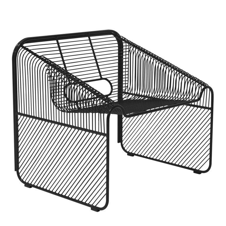 Mid-Century Modern Modern Wire Lounge Chair