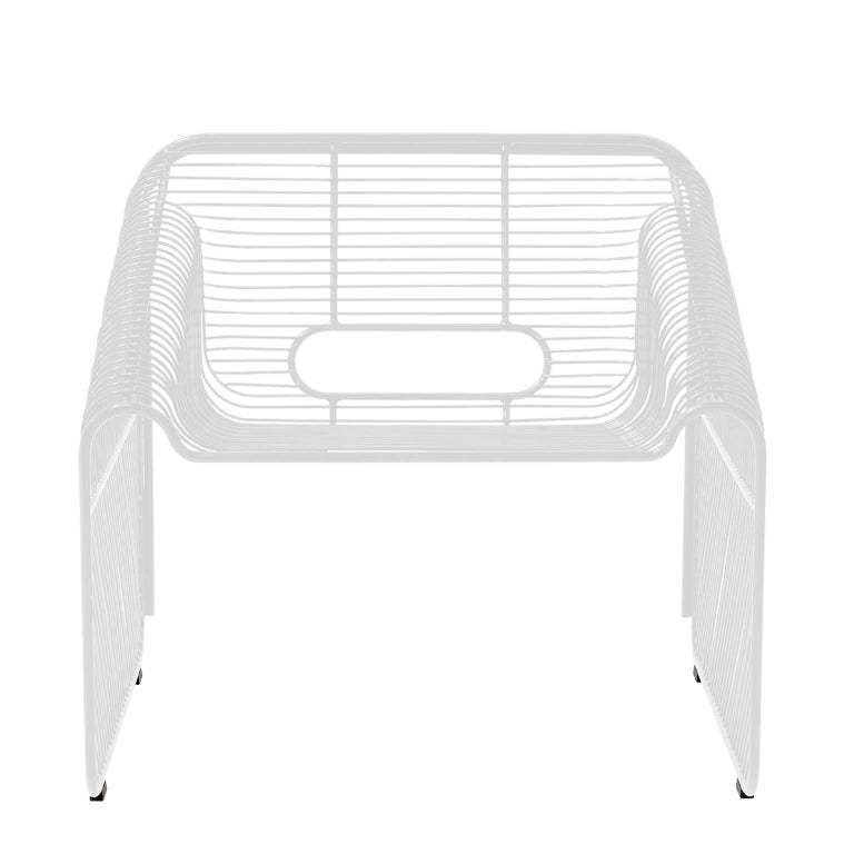 Modern Wire Lounge Chair
