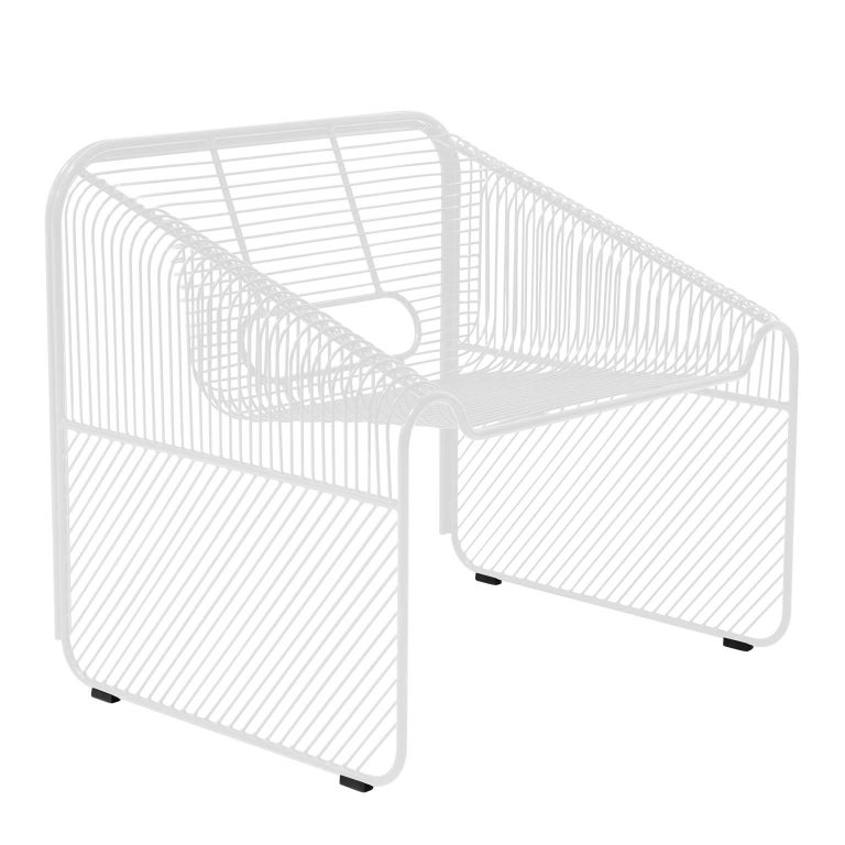 Contemporary Modern Wire Lounge Chair