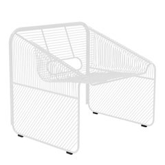 """Modern Wire Lounge Chair """"Hot Seat"""" by Bend Goods"""