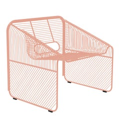 "Modern Wire Lounge Chair ""Hot Seat"" by Bend Goods"