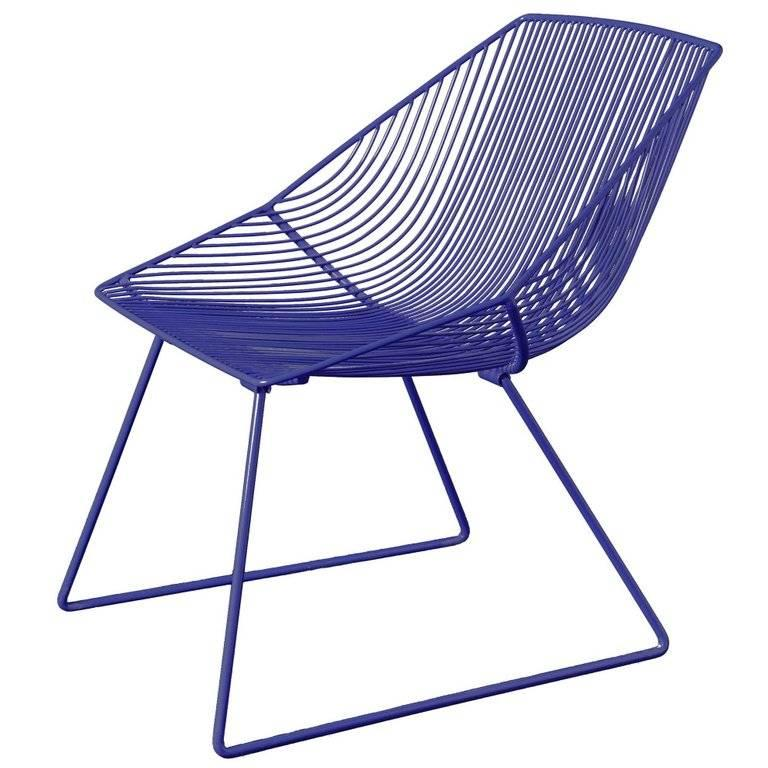 20th Century Modern Wire Lounge Chair