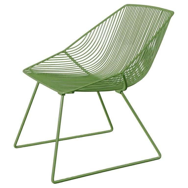 Stainless Steel Modern Wire Lounge Chair