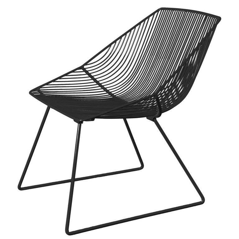 Modern Wire Lounge Chair