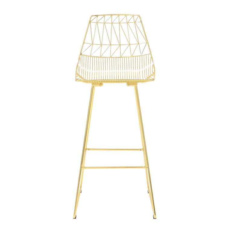At home anywhere that serves drinks are served, the Lucy bar stool is the ideal solution for any space looking to reach new heights. As part of the Lucy line, the bar stool is perfect for an authentic yet modern restaurant, rustic kitchen, or ultra
