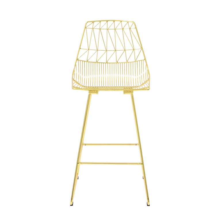 Modern Wire Quot Lucy Quot Counter Stool By Bend Goods For Sale At