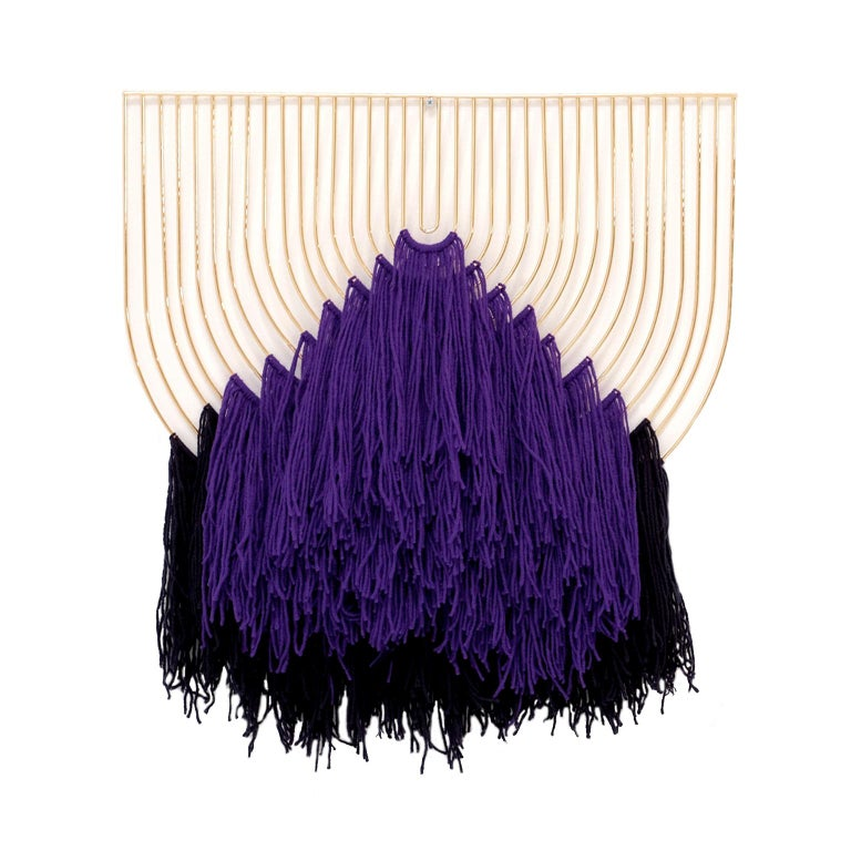 The Macrame art piece is a handcrafted design made locally, right here in Los Angeles. Each unique design combines our modular art piece with elegantly woven yarn, giving it that genuine look of craftsmanship. Inspired by the bright colors and wild