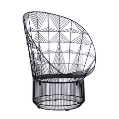 "Modern Wire ""Peacock"" Lounge Chair by Bend Goods"