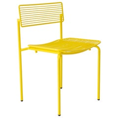 Modern Wire Rachel Chair in Yellow by Bend Goods