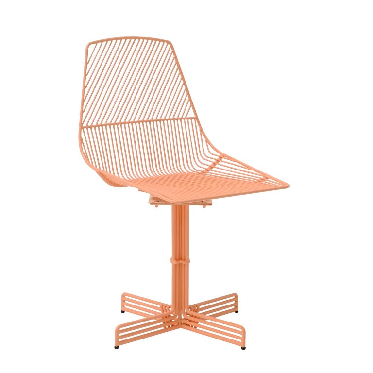 Excellent Modern Wire Swivel Ethel Dining Chair By Bend Goods Forskolin Free Trial Chair Design Images Forskolin Free Trialorg