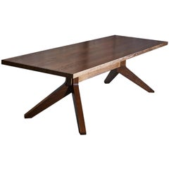Modern Wood Dining Dempsey Table by Goebel