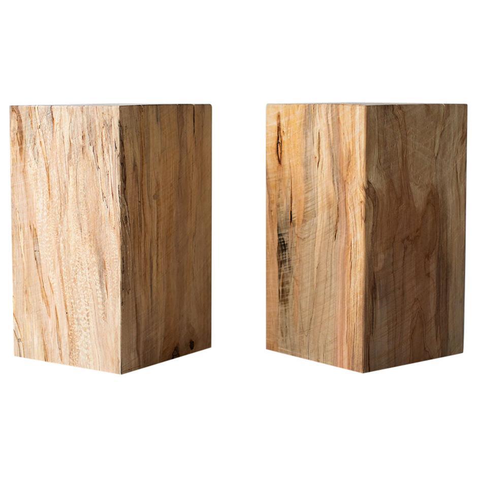 Modern Wood Side Tables